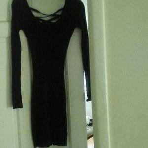 Criss Cross Design in the back Dress